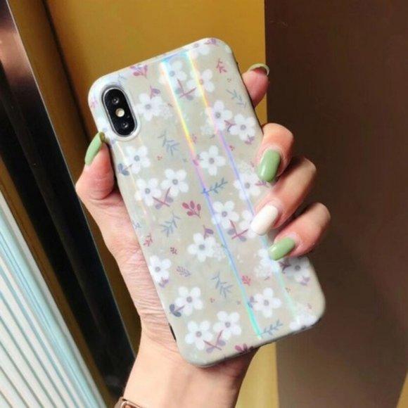 iPhone SE/XS/X/7/8/PlusAurora Laser Case